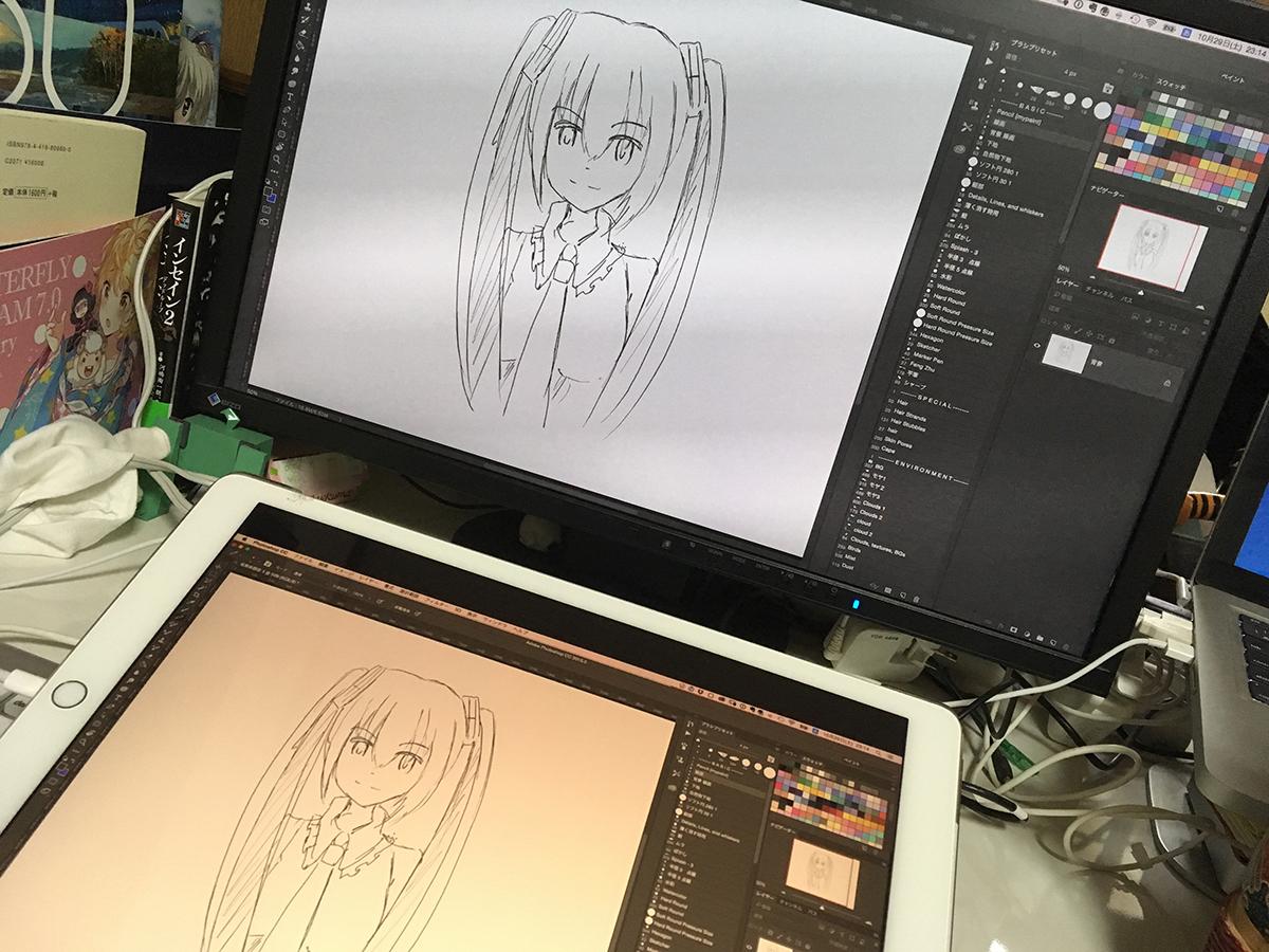 用途別まとめ】ipad proで試したお絵描きipadアプリをまとめてみた